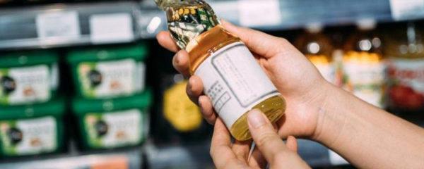 étiquette d'un produit